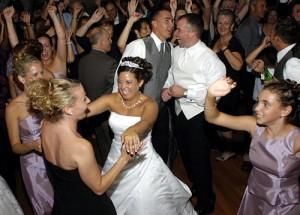 Wedding Reception People Dancing